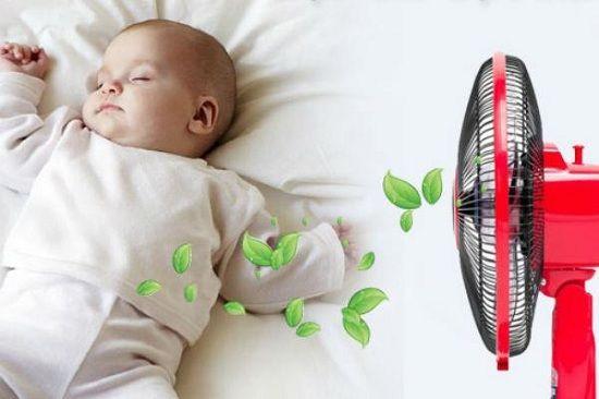 Cần lưu ý điều gì khi sử dụng quạt điện cho trẻ nhỏ?