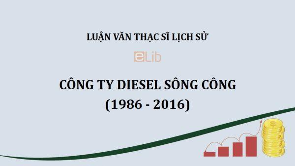 Luận văn ThS: Công ty Diesel Sông Công