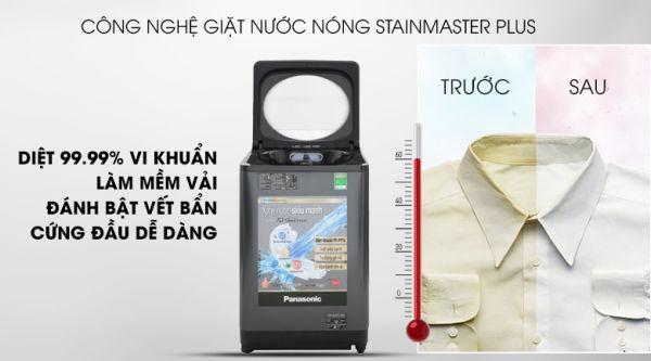 Đặc điểm công nghệ giặt nước nóng StainMaster+