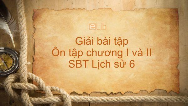 Giải bài tập SBT Lịch Sử 6 Bài 16: Ôn tập chương I và II