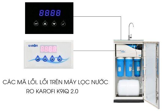 Tổng hợp 5 mã lỗi hay gặp trên máy lọc nước RO