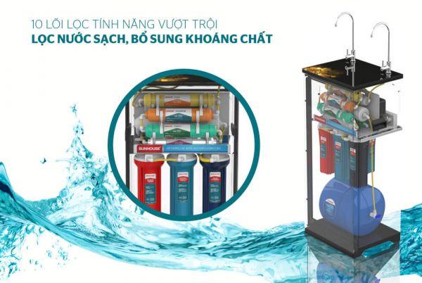 5 Điểm nổi bật tối ưu của máy lọc nước RO