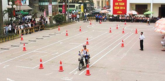 Quy trình thi bằng lái xe máy mới nhất năm 2020