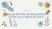 Giải bài tập SBT Sinh học 8 Bài 52: Phản Xạ Không Điều Kiện Và Phản Xạ Có Điều Kiện