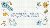 Giải bài tập SBT Sinh học 8 Bài 57: Tuyến Tụy Và Tuyến Trên Thận