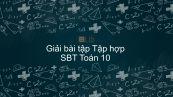 Giải bài tập SBT Toán 10 Bài 2: Tập hợp