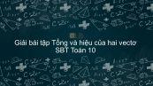 Giải bài tập SBT Toán 10 Bài 2: Tổng và hiệu của hai vec tơ