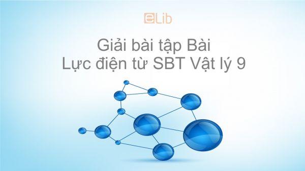 Giải bài tập SBT Vật Lí 9 Bài 27: Lực điện từ