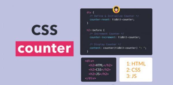 Thuộc tính Counter trong CSS