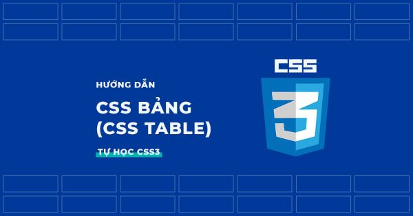 Table trong CSS