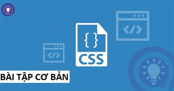 Bài tập CSS cơ bản