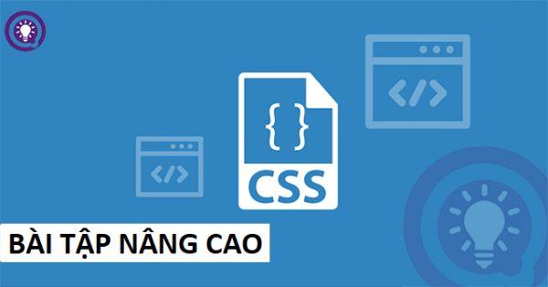 Bài tập CSS nâng cao