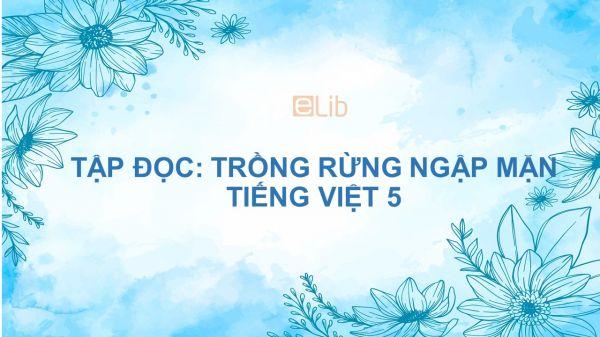 Tập đọc: Trồng rừng ngập mặn Tiếng Việt 5