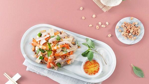 Hướng dẫn cách làm món gỏi củ hủ dừa bao tử thơm ngon lạ miệng
