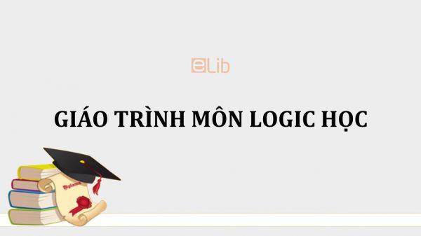 Giáo trình môn Logic học
