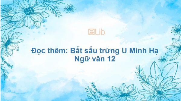 Đọc thêm: Bắt sấu rừng U Minh Hạ Ngữ văn 12