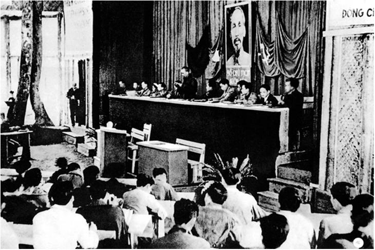 Hình 2: Đại hội đại biểu toàn quốc lần thứ II của Đảng