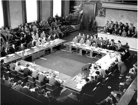Hình 2: Quang cảnh Hội nghị Giơ-ne-vơ (1954)