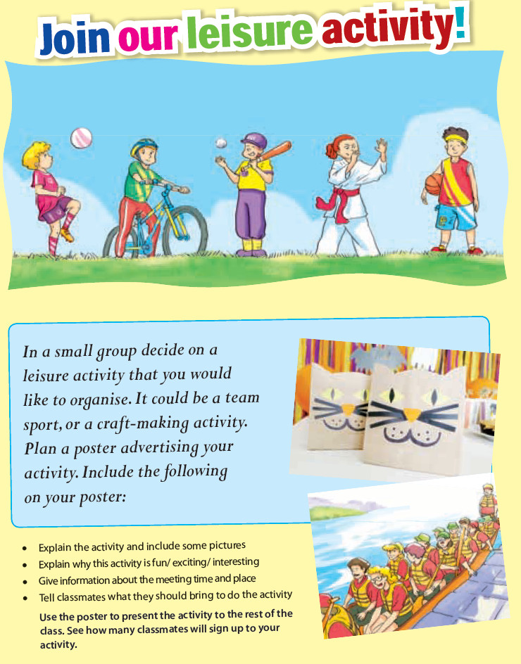 Unit 1 Leisure Activities Project
