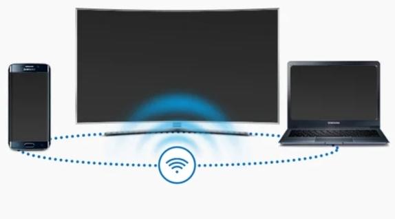 Bật wifi cả điện thoại và Tivi chung một mạng