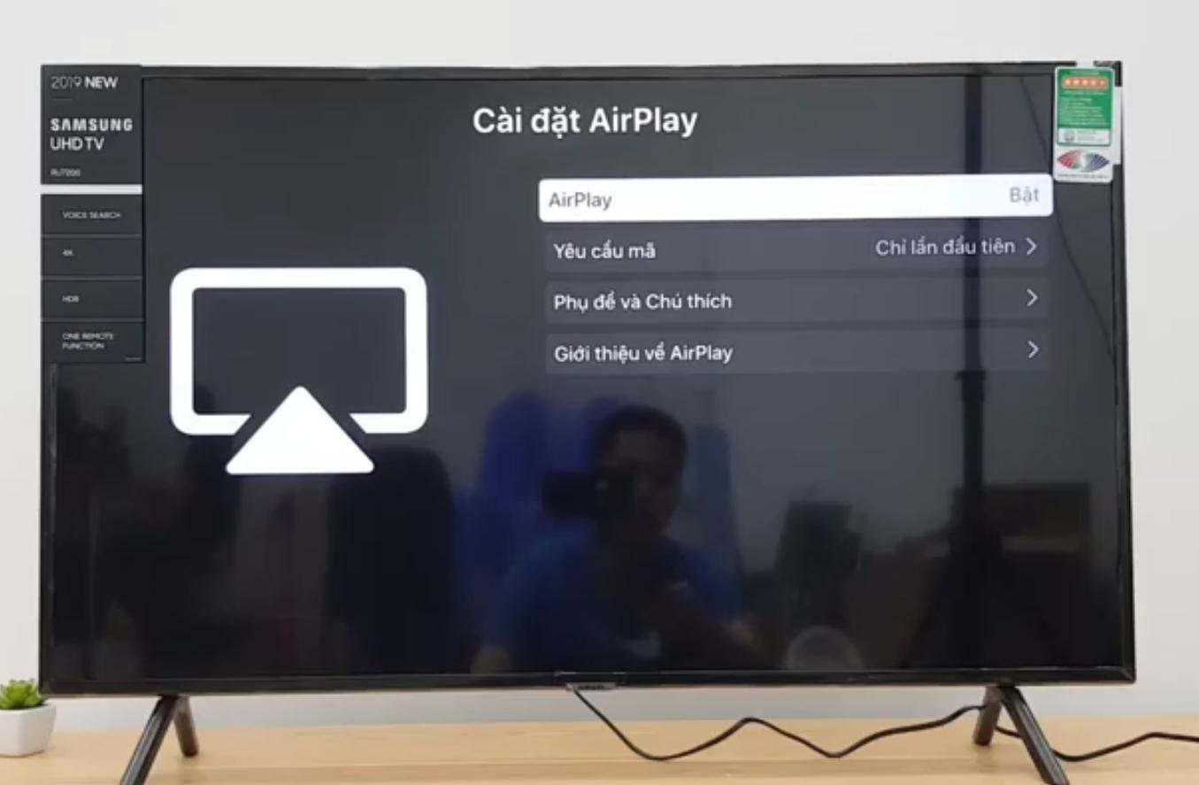 Bật tính năng Airplay 2 trên Smart Tivi Samsung