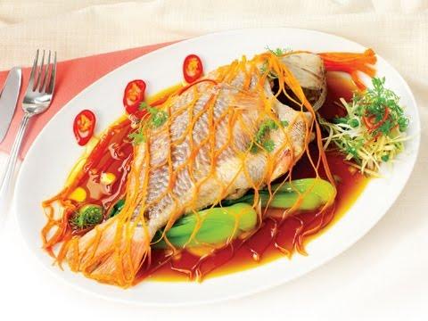 Món cá Diêu Hồng hấp Hồng Kông