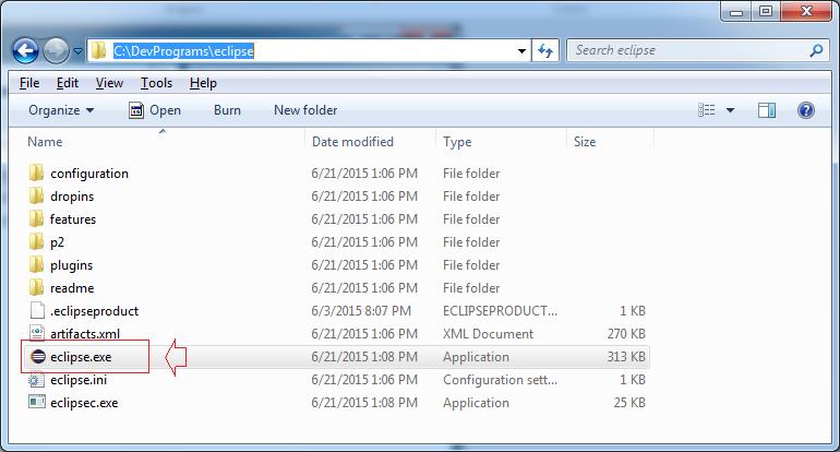 Mở phần mềm bằng cách chạy file