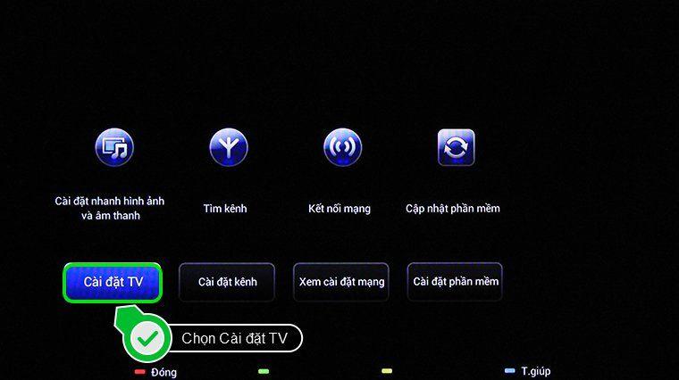 Select TV Settings