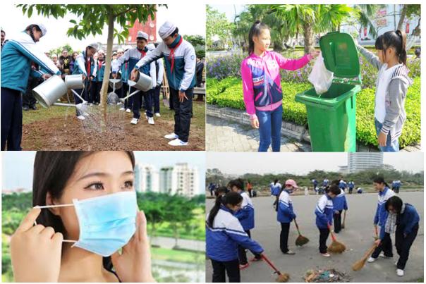 Hình 22.3 Các biện pháp hạn chế ô nhiễm hệ hô hấp