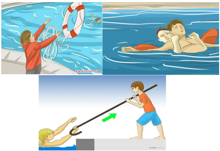 Hình 23.1 Đưa nạn nhân đuối nước ra khỏi vùng nước