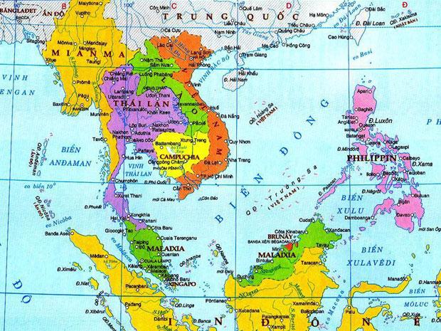 Lược đồ Biển Đông