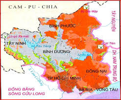 Lược đồ Đông Nam Bộ