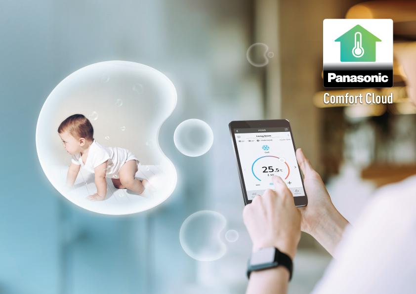 Tính năng kết nối và điều khiển máy lạnh Panasonic bằng smartphone