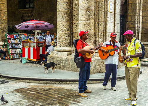 Nghệ thuật đường phố Cuba