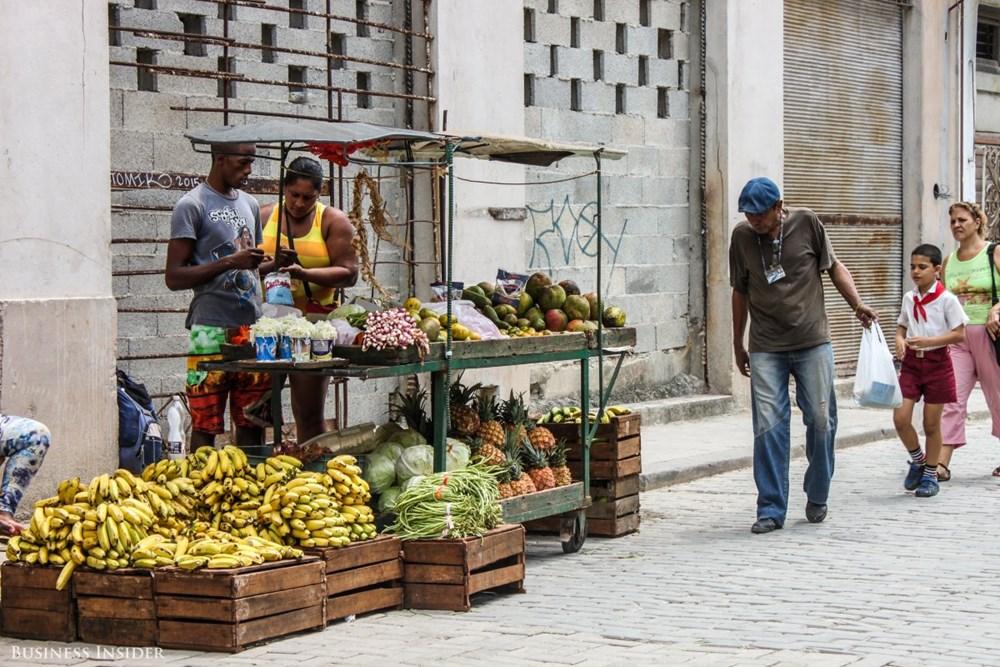Chợ nhỏ ở Cuba