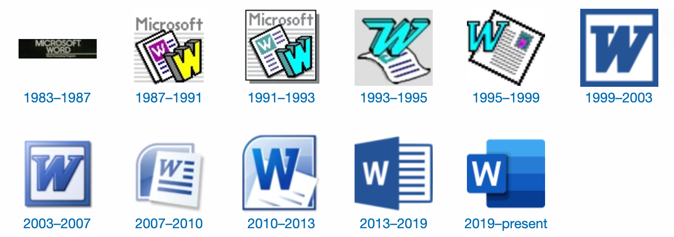 Lịch sử hình thành của Microsoft Word