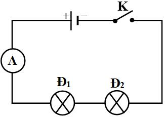 Sơ đồ mạch điện mắc nối tiếp