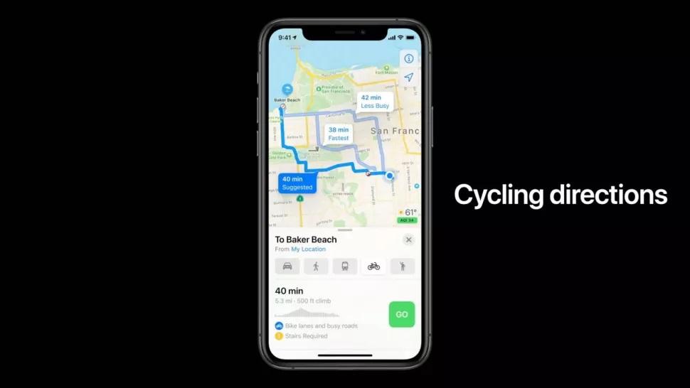 Những tính năng bổ sung trên Apple Maps