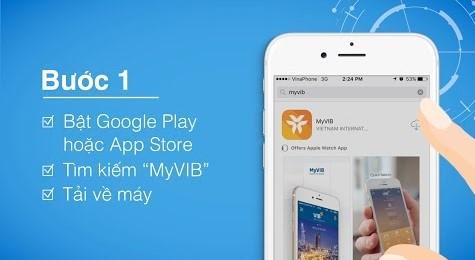 Cách đăng nhập MyVIB