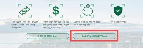 Hướng dẫn đăng ký Internet Banking VPBank