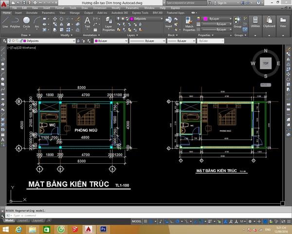 Lệnh Mvsetup dùng để hoàn chỉnh các layout đã được tạo