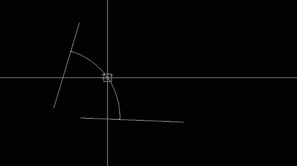 Cách thực hiện lệnh vẽ cung tròn đi qua điểm đầu, tâm và cuối không quá phức tạp
