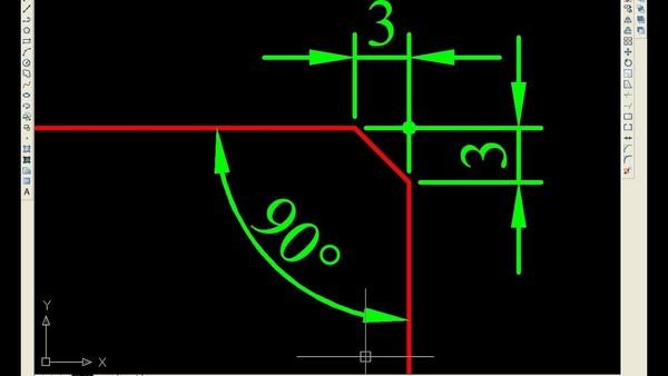 Sử dụng Fillet between parallel lines để bo cung