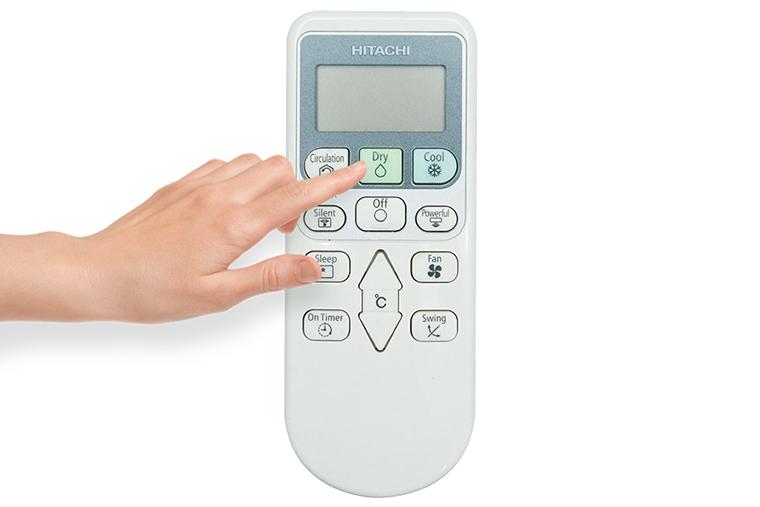 Cách sử dụng điều khiển máy lạnh Hitachi RAS-X10CD