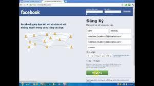 Đăng nhập vào facebook