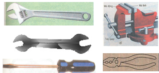Dụng cụ tháo, lắp và kẹp chặt