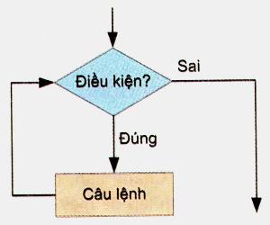 Sơ đồ khối cấu trúc lặp không biết trước số lần lặp