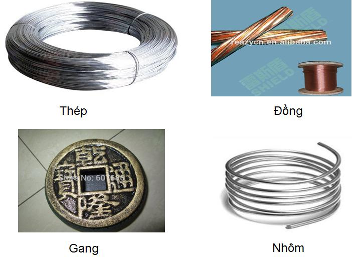 Vật liệu kim loại và vật liệu phi kim loại