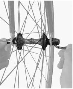 Cấu tạo bánh xe đạp