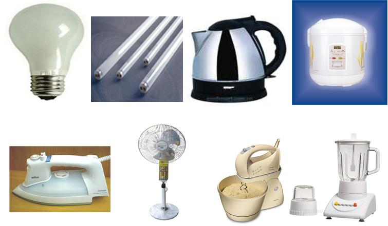 Một số đồ dùng điện gia đình